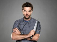 Marcel Vegneron :) awesome chef from next iron chef redemption, and pretty!