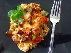 Zapiekanka gyros - Blog z apetytem Donia, Polish Recipes, Cauliflower, Macaroni And Cheese, Chicken, Meat, Vegetables, Blog, Tableware