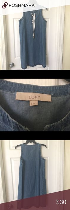 Loft dress 100% cotton; size small Loft dress 100% cotton; size small LOFT Dresses