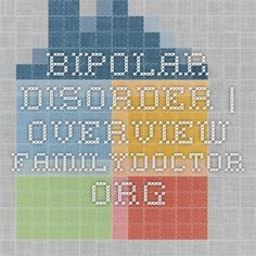 Bipolar disorder dissertation ethical issue
