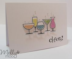 Mellymoo papercrafting: Cheers!