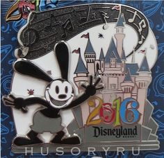 NEW Disney 2016 Disneyland Oswald The Lucky Rabbit New Years Pin