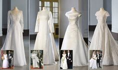 Display of couture wedding gowns worn by Swedish royals to be unveiled in Stockholm Dior Wedding Dresses, Royal Wedding Gowns, Couture Wedding Gowns, Royal Weddings, Princess Victoria Of Sweden, Crown Princess Victoria, Princess Kate, Wedding Dress Display, Casa Real