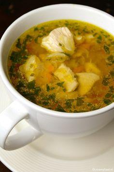 Eerste hulp bij verkoudheid: snelle kippensoep - Lovemyfood.nl