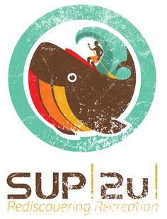 SUPl2ul New!! Stand up paddle board company.. Awesome logo.