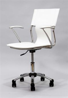 Height Adjustable Studio Office Chair in Vinyl