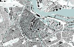 Amsterdam Nolli map, 1:20.000