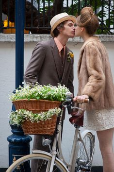 60s style wedding outfit of mini dress and vintage fur coat