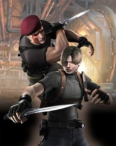 Check Out Our Friends @StuffNerdsLike http://stuffnerdslike.tv/ Resident Evil 4 Concept Art - Neoseeker