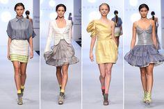Sandra Weil conquista la pasarela del Mercedes Benz Fashion Week México con su ecléctico 'mercado chic'