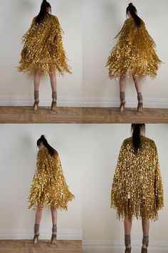 Tinsel tree as dress via Serbian Elle (really) When I started this blog nearly eight (!!) years ago, my sole intent was to create a ...