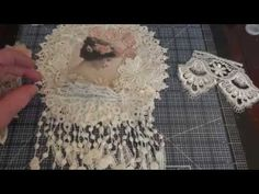 Shabby Chic Wall Hanging - Start to Finish Tutorial (Part 2 of 3)! - YouTube