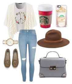 """""""Untitled #34"""" by itspaying on Polyvore featuring MANGO, River Island, UGG Australia, Casetify, Michael Kors and rag & bone"""