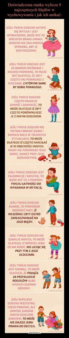 Doświadczona matka wylicza 9 najczęstszych błędów w wychowywaniu i jak ich unikać: Everything And Nothing, Baby Development, Baby Hacks, Infant Activities, Emotional Intelligence, Better Life, Kids And Parenting, Helpful Hints, Psychology