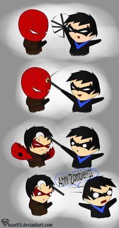 Nightwing Red Hood - Batman Funny - Funny Batman Meme - - Nightwing Red Hood The post Nightwing Red Hood appeared first on Gag Dad. I Am Batman, Batman Robin, Superman, Gotham Batman, Batman Art, Funny Batman, Batman Stuff, Marvel Funny, Robins