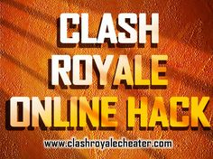 Click this site http://www.facebook.com/Clash-Royale-Cheats-1084518241629045 for more information on Clash royale online hack. Playing Clash Royale is fun and fair for all players in the game including those who are unable to spend hundreds of dollars on a mobile game. Clash Royale online hack codes are easy to use and are accessible to everyone with internet access. These codes make playing the game easier and exciting. Follow Us: http://clashroyalegenerator.netboard.me