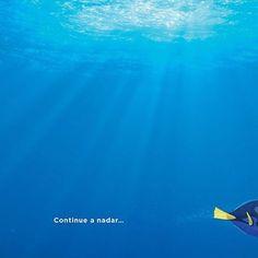 Continue a nadar!!! Ontem foi divulgado o pôster e hoje saiu o trailer de #ProcurandoDory! Tem tudo lá no #AdoroCinema! #findingdory #nemo #dory #pixar ❤️❤️❤️