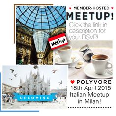 Meetup in Milan on April 18th! Details and RSVP: polyv.re/18Ord1a