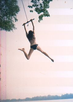 finding a good rope swing this summer