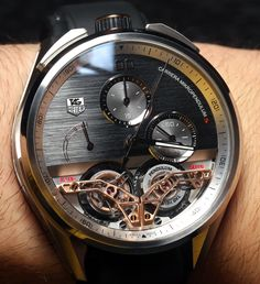 TAG Heuer MikroPendulumS Watch: First Magnetic Double Tourbillon Hands-On