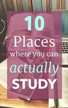 10 Places Where You Can Actually Study - Are you sick and tired of studying in the same place? No worries! Here are some great locations for college students to get their work done. college student tips Study Skills, Study Tips, Study Hacks, Study Methods, Study Help, Coping Skills, College Survival Guide, College Checklist, College Planning