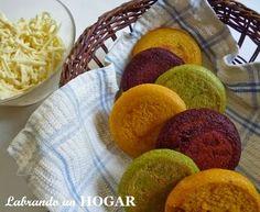 Labrando un HOGAR: ¡Arepas de colores! nutritivas y divertidas