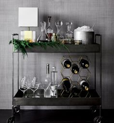 Flash Sale Starts Now! off Cocktail and Drinking Glasses, off Bar Carts . Flash Sale Starts Now! off Cocktail and Drinking Glasses, off Bar Carts and Bar Cabinets. Exclusions apply, ends Diy Bar Cart, Gold Bar Cart, Bar Cart Styling, Bar Cart Decor, Black Bar Cart, Bar Furniture, Plywood Furniture, Luxury Furniture, Furniture Stores