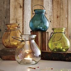 Recycled-Glass Lanterns