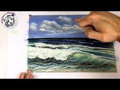 Dibujo al Pastel 3 | Como Dibujar una Marina con Pasteles (gises pastel - soft pastels) - YouTube