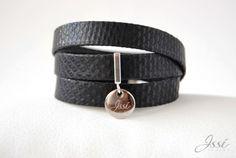 BLACK SNAKE BELT Leather Belts, Snake, Bracelets, Accessories, Black, Jewelry, Fashion, Moda, Jewlery