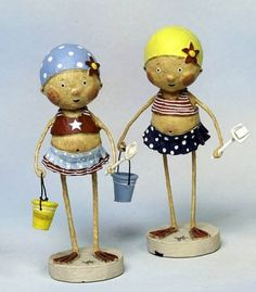 Bayberry Cove - Lori Mitchell - Bathing Beauties - Set of 2, $24.99 (http://bayberrycove.com/lori-mitchell-bathing-beauties-set-of-2/)