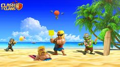 funny clash of clans barbarian wallpaper Clash Of Clash, Clash Royale, Recipe For 4, Barbarian, Karaoke, Funny Moments, Troops, In This Moment, Kids