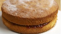 Create this classic Victoria sponge cake with our Cookbook recipe © National Trust Images/ William Shaw Victoria Sponge Recipe, Victoria Sponge Cake, Sponge Cake Recipes, Dessert Cake Recipes, Desserts, Yummy Treats, Sweet Treats, Yummy Food, Tasty