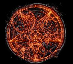 This is the Doom 3 Pentagram that I touched up in Photoshop. Doom 3, Doom Game, Dark Fantasy Art, Dark Art, Doom Demons, Doom 2016, The Warlocks, Element Symbols, Satanic Art
