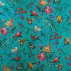 Scalamandre Paradiso in Turquoise