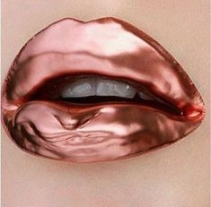 51 Stunning Lip-Art That Can Make You More Stylish, Distinct types or colors of lipstick is likely to make a different impression. 1 color that's almost always a favorite is nude. You should select a ne. Lip Art, Lipstick Art, Lipstick Colors, Lip Colors, Lipsticks, Rose Gold Lipstick, Cute Lipstick, Glitter Lipstick, Makeup Art