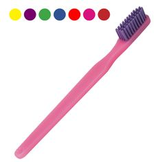 41-Tuft #Adult #Brush - (37¢ each, Min. Quantity 72). Economical, quality, adult #toothbrush soft bristles. May be personalized.  Natural Color Bristles: #600291. Assorted Color Bristles: #754716. http://www.prophyperfect.com/customize/
