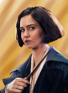 The lovely Katherine Waterston as Porpentina Goldstein in Fantastic Beasts and Where to Find them Software: Corel Time: hours) Porpentina Goldstein Fantastic Beasts Movie, Fantastic Beasts And Where, Porpentina Goldstein, Credence Barebone, Crimes Of Grindelwald, Harry Potter Aesthetic, Hogwarts, Deviantart, Phoenix