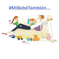 #MiBebéTambién es mi principal fuente de energía, amor, luz...y agotamiento! Comparte si te sientes identificada!
