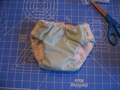 Waterproof training pants with free pattern