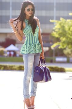 Usually hate Peplum but this is adorable