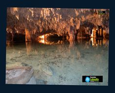 Nice photo. Caves are nice. Caves with crystal-clear water are amazing!!!!!