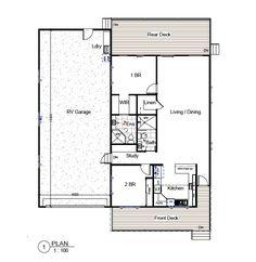 Arizona RV Home Model 1