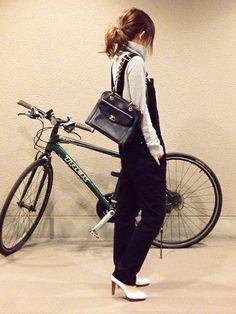 mayumiさんのサロペット/オーバーオール「Deuxieme Classe ◆コットンフィットペインターオーバーオール」を使ったコーディネート