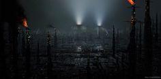 ArtStation - BLADE RUNNER 2049 - Black Out 2022, Paul Chadeisson