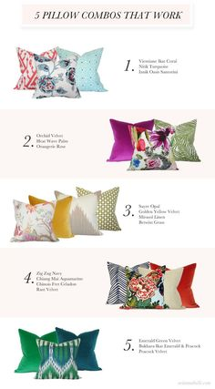 Eye-Opening Cool Tips: Decorative Pillows Arrangement Pictures decorative pillows with buttons cushions.Decorative Pillows On Bed Fabrics how to make decorative pillows dorm room.Decorative Pillows On Sofa. Canapé Design, Home Design, Interior Design, Design Ideas, Diy Pillows, Cushions On Sofa, Pillows On Bed, Accent Pillows, Pillow Ideas