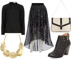 From Lauren Conrad.com                                             Style Guide: How to Wear The High-Low Skirt