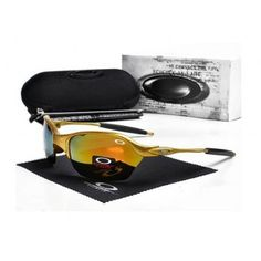 2013 new Oakley Romeo 2.0 Sunglasses polished golden frames yellow Iridium | See more about oakley, sunglasses and frames.