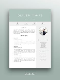 Resume CV template and Cover letter. Personal branding design professional application for men ---CLICK IMAGE FOR MORE--- resume how to write a resume resume tips resume examples for student Resume Design Template, Cv Template, Resume Templates, Personal Branding, Self Branding, Creative Application, Application Letters, Cover Letter For Resume, Cover Letter Template