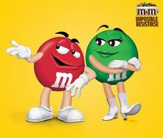 M&M's Chile - Rojo conquista a verde con M&M's. ¿Cómo lo harías tú ?
